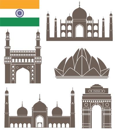 lotus temple: India Illustration