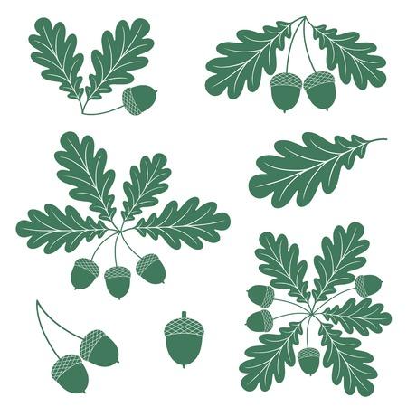 wreath set: Oak