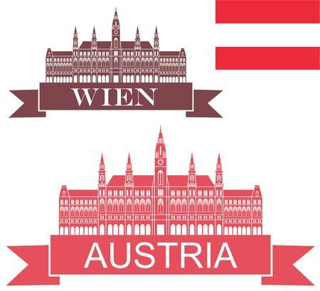 austrian flag: Austria