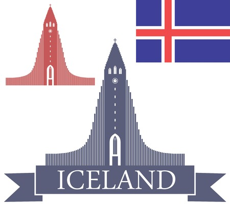 iceland: Iceland Illustration