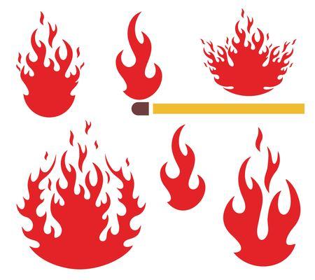 Fire Иллюстрация