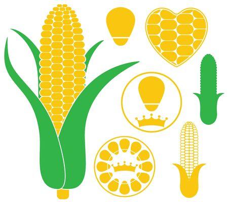 Corn 向量圖像