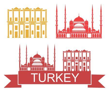 터키 일러스트