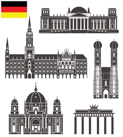 german culture: Germany Illustration
