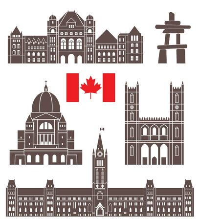 sights: Canada Illustration
