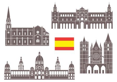 castilla: Spain Illustration