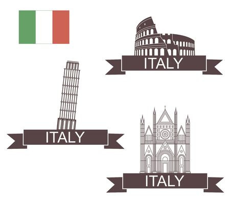 siena italy: Italy Illustration