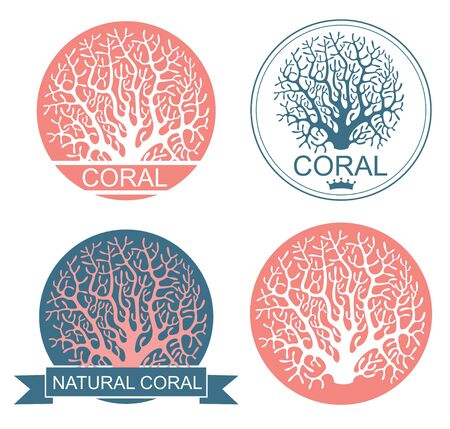 disappear: Coral Illustration