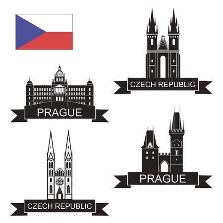 the czech republic: Czech Republic Illustration