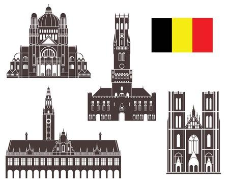Belgium 向量圖像