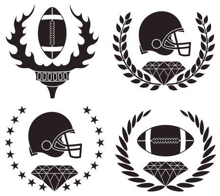 american football helmet set: American Football