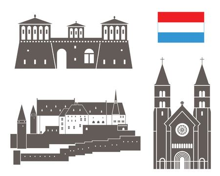 luxembourg: Luxembourg Illustration