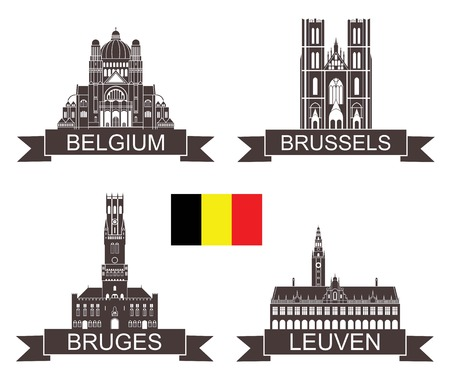 belgium: Belgium Illustration