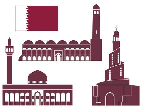 Qatar 向量圖像