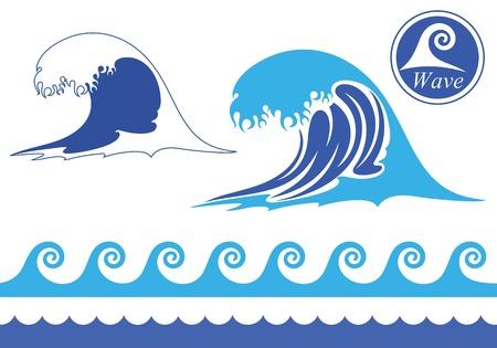 olas de mar: Ola