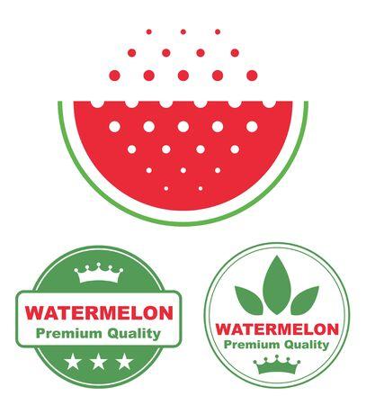 vegetarianism: Watermelon Illustration