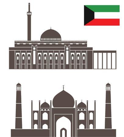 쿠웨이트 일러스트