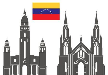 巡礼: Venezuela  イラスト・ベクター素材