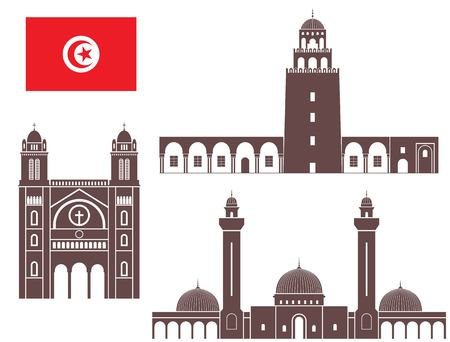 tunisia: Tunisia Illustration