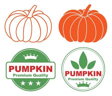 claret: Pumpkin Illustration