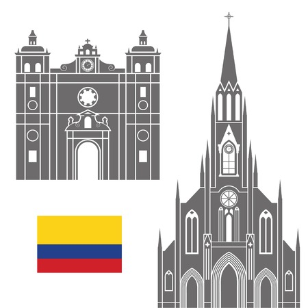 colombia: Colombia Illustration