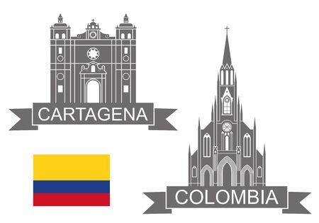 bandera de colombia: Colombia Vectores