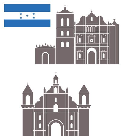 honduras: honduras Illustration