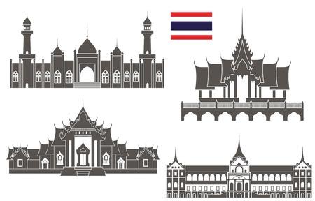 Tajlandia Ilustracje wektorowe