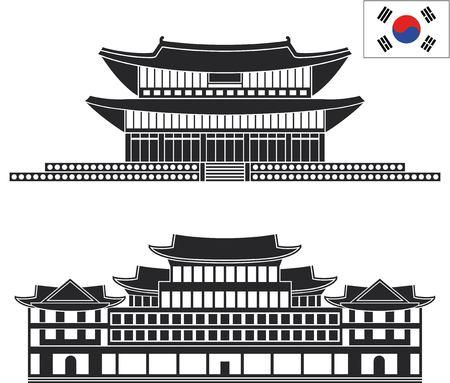 korea flag: south korea
