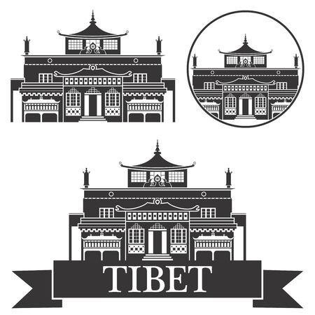 tibet Illustration