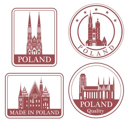 wroclaw: poland Illustration