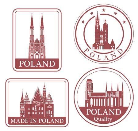 wroclaw: poland Illustration