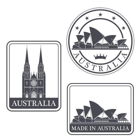 australian culture: australia Illustration