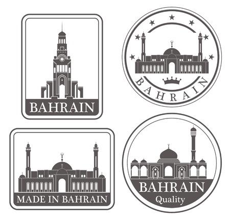 bahrain: bahrain Illustration