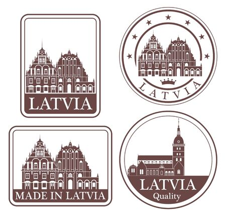 latvia: latvia Illustration