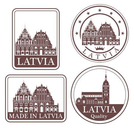 latvia: latvia Illustration