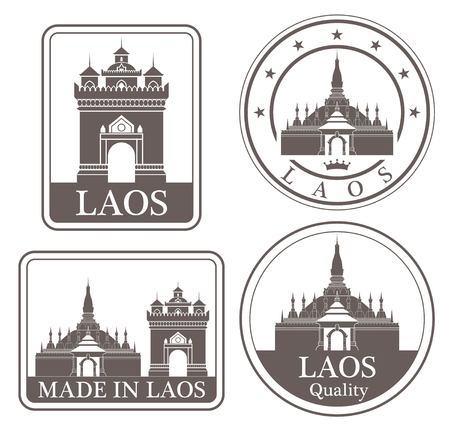 laos: laos Illustration