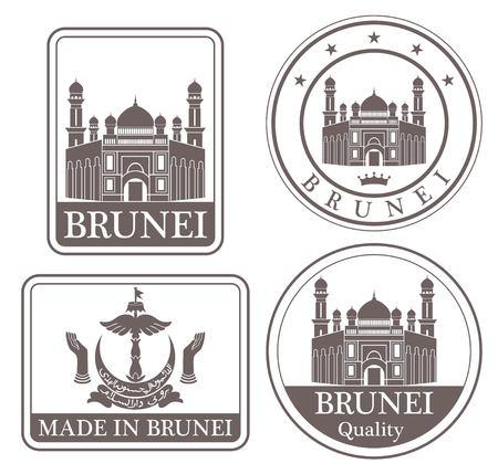 brunei: brunei Illustration