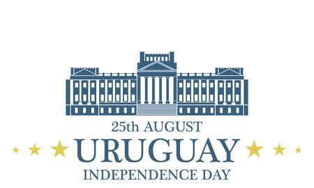 uruguay: Independence Day. Uruguay Illustration