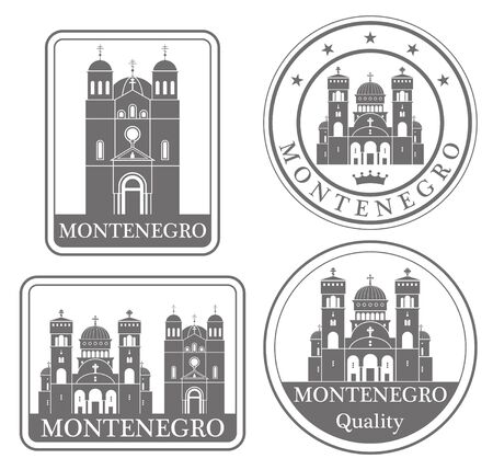 montenegro: montenegro Illustration