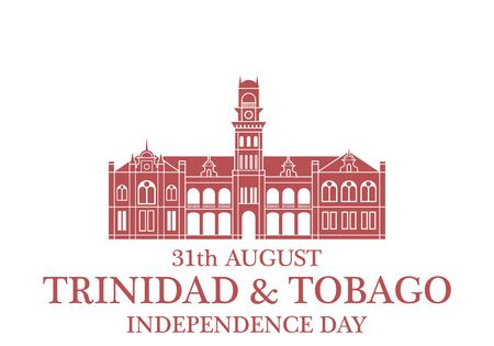 sights: Independence Day. Trinidad and Tobago Illustration