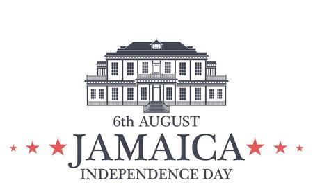 독립 기념일. 자메이카 일러스트