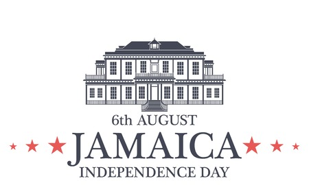 Independence Day. Jamaica Ilustração