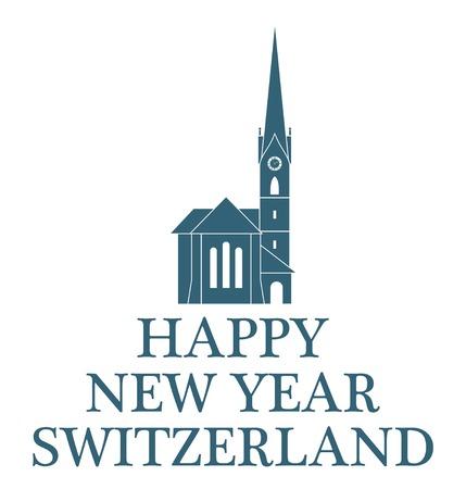 greeting: Greeting Card. Switzerland