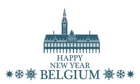 greeting: Greeting Card. Belgium