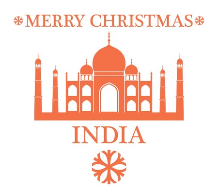 greeting: Greeting Card. India Illustration