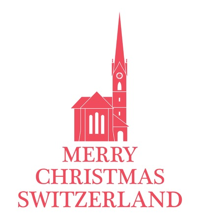 Greeting Card. Switzerland