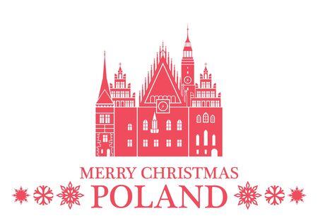 wroclaw: Merry Christmas Poland