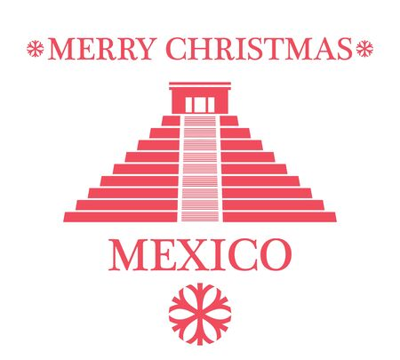 chichen: Greeting Card. Mexico