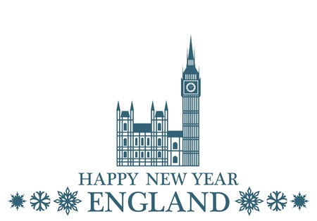 westminster abbey: Happy New Year England